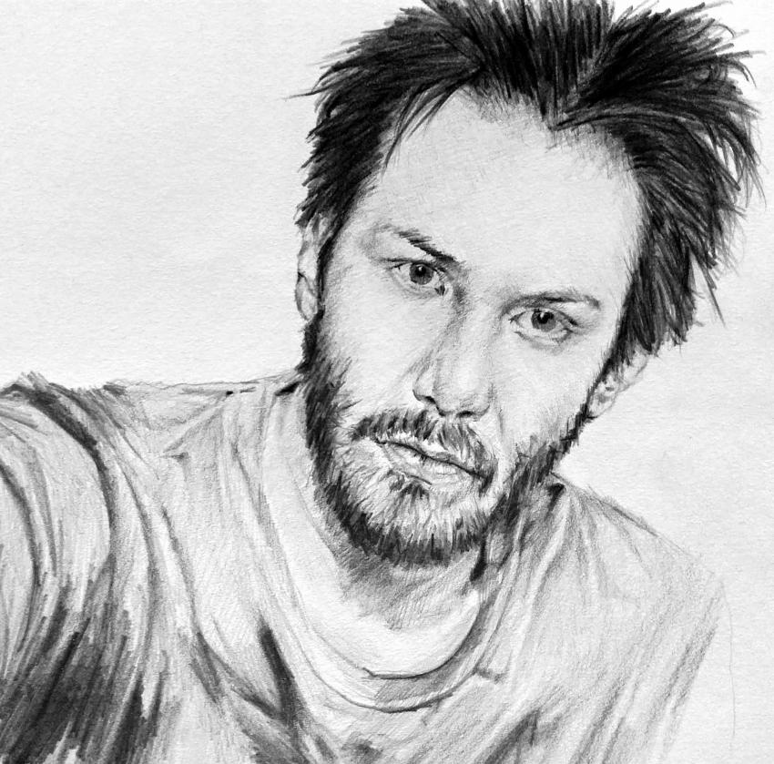 Keanu Reeves by linshyhchyang